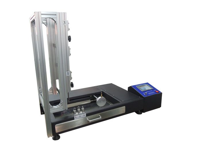 Fabric vertical flammability performance tester