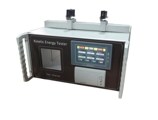 Toy Touch Screen Kinetic Energy Tester with Printer
