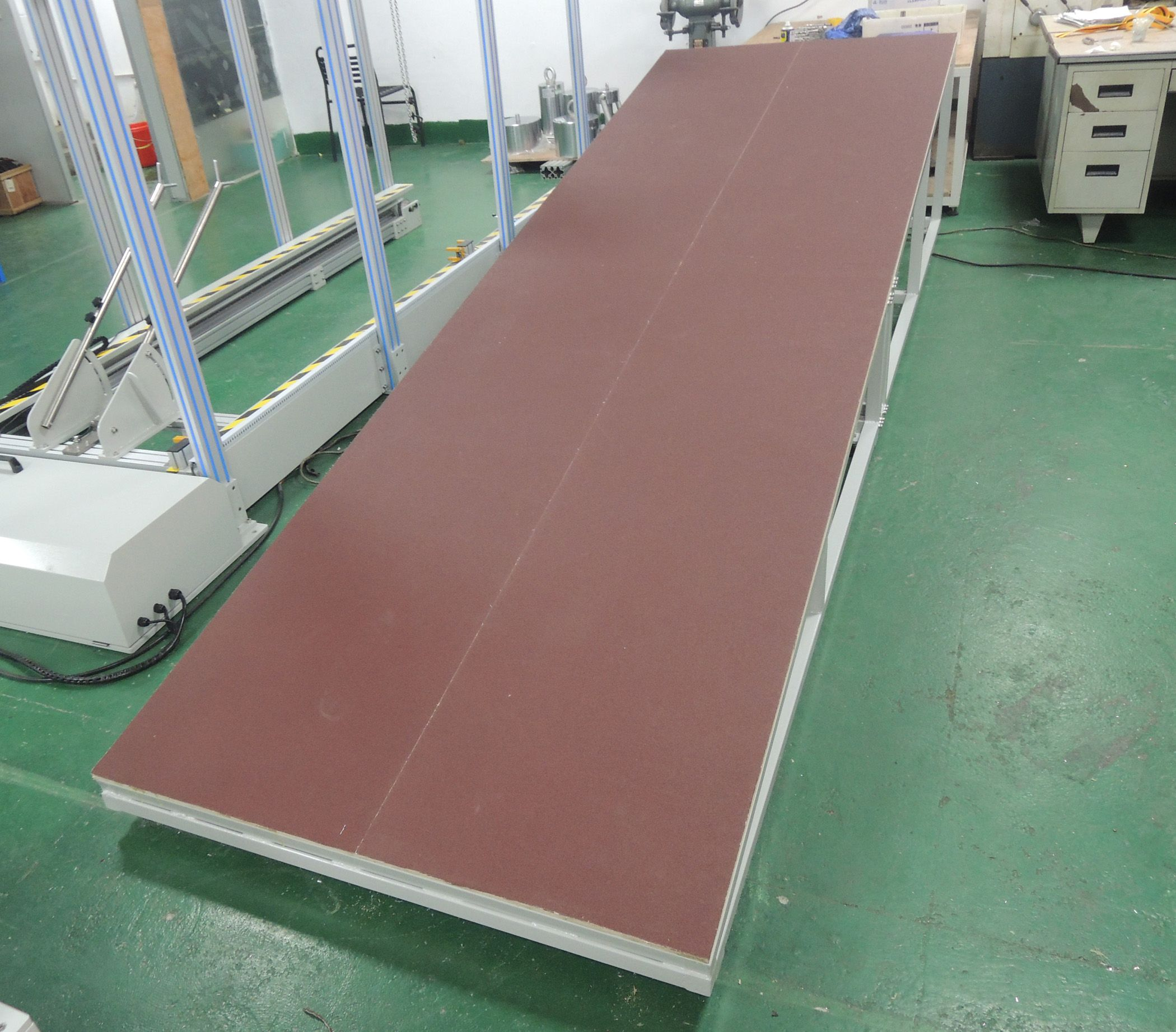 EN71-1 Motor Brake Performance Testing Ramp