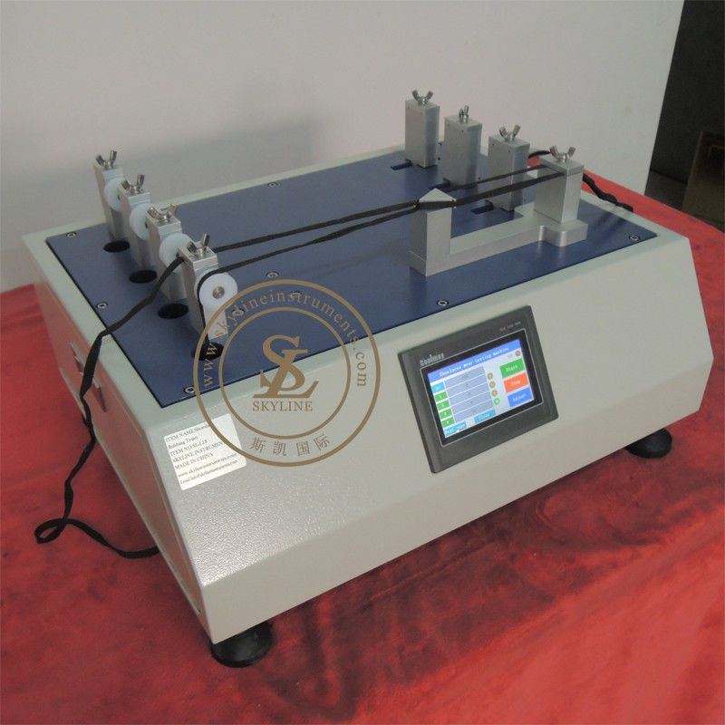 Shoeslace Rubbing Resistant Tester